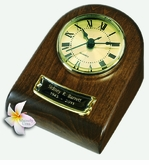 Chestnut Mini-Clock Wood Keepsake Cremation Urn