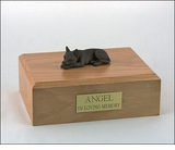 Chocolate Chihuahua Dog Figurine Pet Cremation Urn - 1832