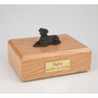 Chocolate Labrador Dog Figurine Pet Cremation Urn - 4027