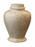 Lassi Cameo Marble Pet Cremation Urn