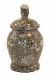 Classic Oceanic Marble Keepsake Cremation Urn