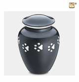Classic Paw Print Medium Pet Cremation Urn