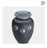 Classic Paw Print Small Pet Cremation Urn
