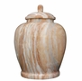 Classic Pink Marble Cremation Urn