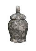 Classic Taupe Keepsake Cremation Urn