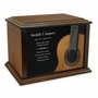 Classical Guitar Eternal Reflections Wood Cremation Urn - 4 Sizes