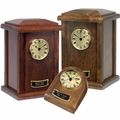 Clock Tower Series Wood Cremation Urns