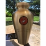 Coast Guard Emblem Bronze Arlington Cremation Urn - Engravable