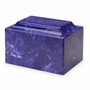 Cobalt Classic Cultured Marble Cremation Urn Vault - Engravable