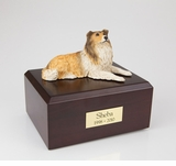 Collie Dog Figurine Pet Cremation Urn - 066