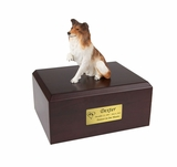 Collie Dog Figurine Pet Cremation Urn - 067