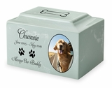 Color Photo Granite Pet Cremation Urn Vault - 3 Sizes