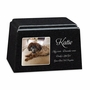 Color Photo Granite Promise Pet Cremation Urn - 14 Colors - 3 Sizes