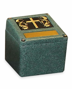 Convertible Urn Burial Vault - 5 Color Choices