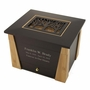 Craftsman Cut Panel MDF Wood Memory Chest Cremation Urn