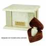 Cream Wash Marble Acropolis Cremation Urn