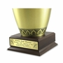 Cremation Urn Pedestal With Nameplate - Medium
