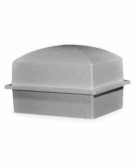 Crowne Compact Coronet Gray Cremation Urn Burial Vault