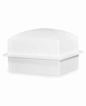 Crowne Compact Coronet White Cremation Urn Burial Vault