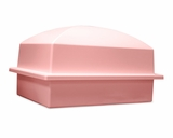 Crowne Heavenly Pink Single Cremation Urn Burial Vault
