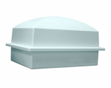 Crowne Sky Blue Single Cremation Urn Burial Vault
