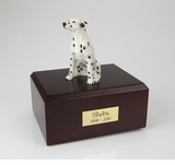 Dalmatian Dog Figurine Pet Cremation Urn - 087