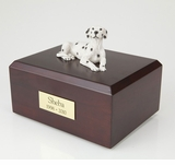 Dalmatian Dog Figurine Pet Cremation Urn - 090