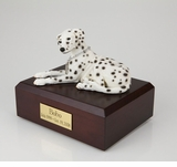 Dalmatian Dog Figurine Pet Cremation Urn - 1569
