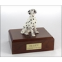 Dalmatian Dog Figurine Pet Cremation Urn - 329