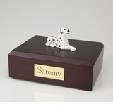 Dalmatian Dog Figurine Pet Cremation Urn - 4008