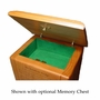 Marine Corps Engraved Wood Cremation Urn