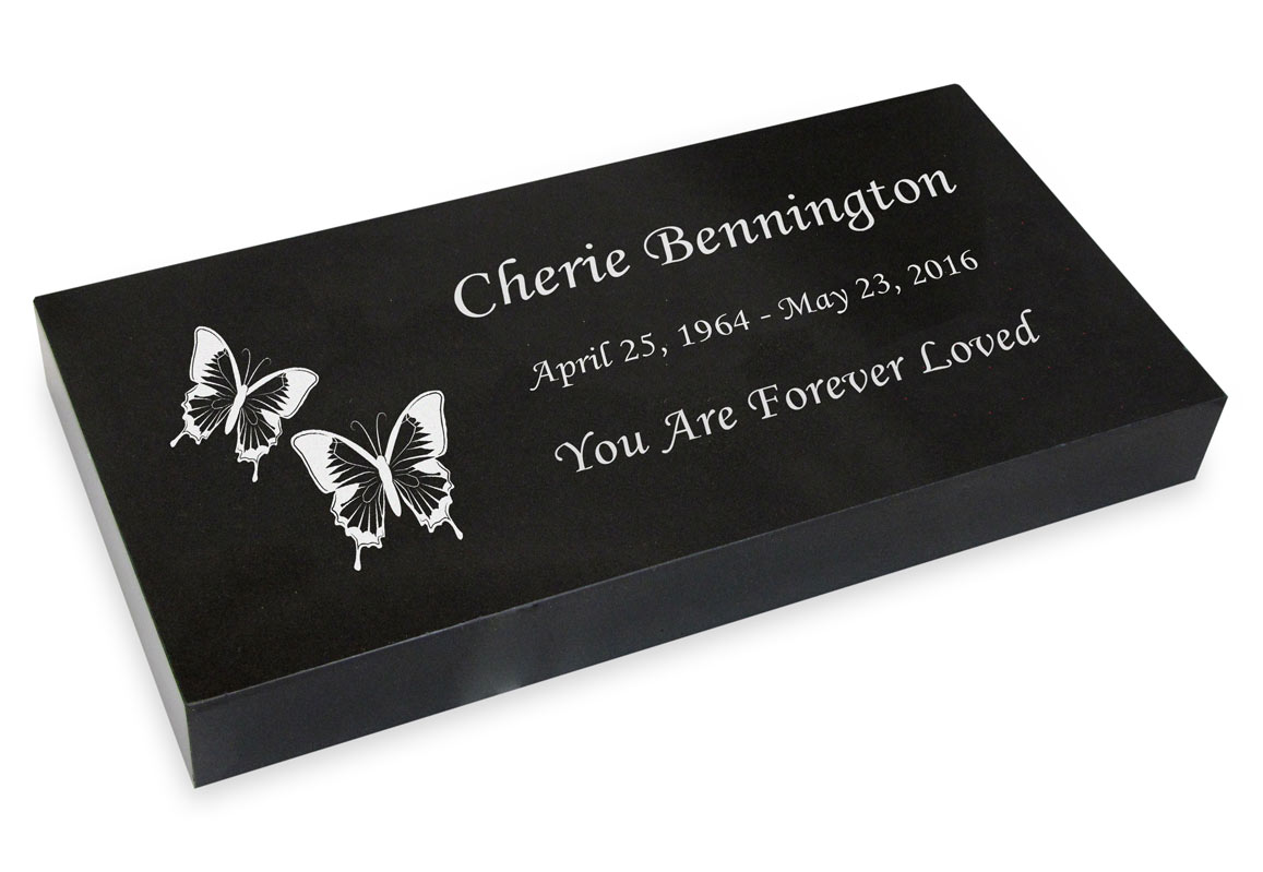 Personalised Butterflies Appear In Loving Memory Memorial Grave Marker Ornaments