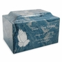Design Your Own Classic Cultured Marble Cremation Urn Vault - Engravable - 34 Color Choices