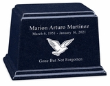 Design Your Own Granite Ark Cremation Urn - 13 Colors - 3 Sizes