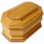 Devotion Cremation Urn in Oak