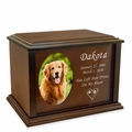 Devotion Photo Frame Wood Pet Cremation Urn - 3 Sizes - 3 Frame Choices