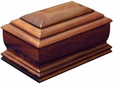 Dignity Cremation Urn in Oak or Mahogany