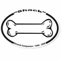Dog Bone Memorial Sticker