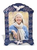 Dove Cloisonne Picture Frame