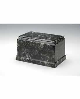 Ebony Olympus Cremation Urn - Engravable