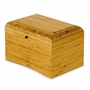 EcoHome Bamboo Biodegradable Eco-Friendly Cremation Urn