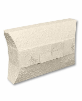 Economy White Pillow Biodegradable Cremation Urn