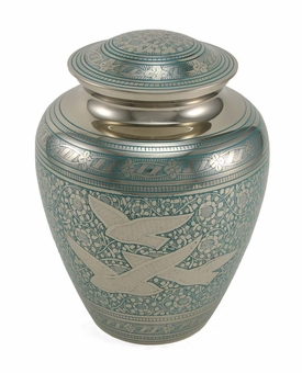 Elite Going Home Brass Cremation Urn