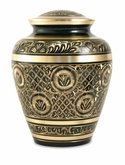 Elite Radiance Brass Cremation Urn