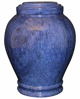 Embrace Blue Marble Cremation Urn
