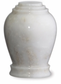 Embrace Mini Antique White Marble Keepsake Cremation Urn
