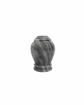 Embrace Mini Cashmere Gray Marble Keepsake Cremation Urn