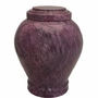 Embrace Purple Marble Cremation Urn