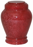 Embrace Red Keepsake Cremation Urn