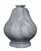 Equator Cashmere Gray Marble Cremation Urn